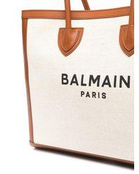 メンズ Balmain ロゴ トートバッグ Multicolor