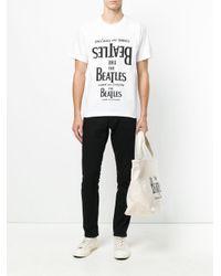 メンズ Comme des Garçons Tシャツ White