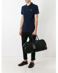 Prada Black - Logo Plaque Travel Holdall - Men - Leather/polyester - One Size for men