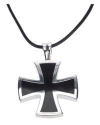 Gavello - 'black Essenses' Cross Pendant Necklace - Lyst