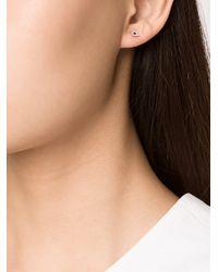 EF Collection - Metallic Eye Earring - Lyst