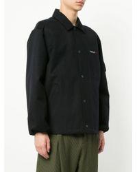 Yoshiokubo Blue Bear Coach Jacket for men