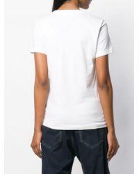 DIESEL スリムフィット Tシャツ White