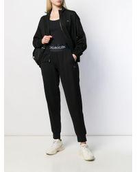 Спортивные Брюки С Завышенной Талией Calvin Klein, цвет: Black