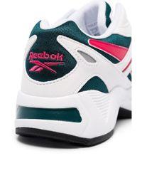 Reebok White Aztrek 96 Low-top Sneakers