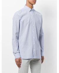 Hackett Blue Striped Shirt for men