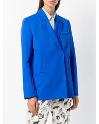 Victoria Beckham ダブルジャケット Blue
