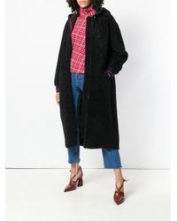 Inès & Maréchal - Black Domino Zipped Coat - Lyst
