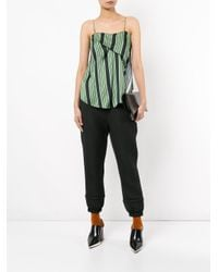 Nehera Black Podin Quilted Trousers