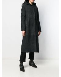 Liska シアリング コート Black