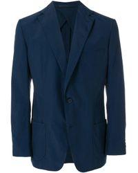 Orlebar Brown Blue Single Breasted Blazer for men