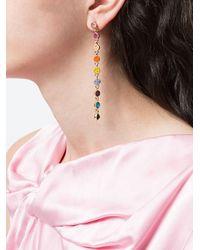 Декорированные Серьги-подвески Kenneth Jay Lane, цвет: Multicolor