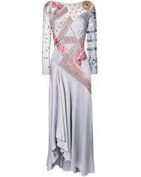 Temperley London Blue Kite Dress