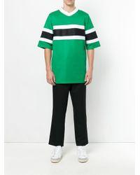 メンズ AMI オーバーサイズ Tシャツ Green