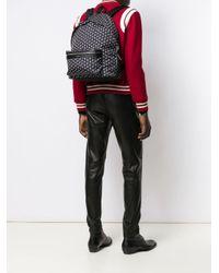 Рюкзак Ysl City С Принтом Saint Laurent для него, цвет: Black