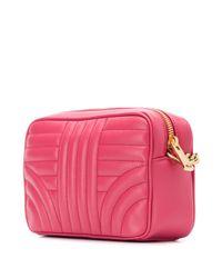 Sac à bandoulière Diagramme Prada en coloris Pink