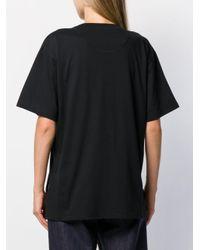 Fendi Ff Karligraphy Tシャツ Black
