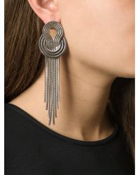 Lara Bohinc Metallic 'saturn' Earrings