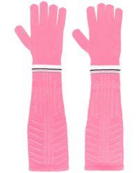 Prada Pink Long Gloves