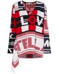 Pull All Is Love à capuche Stella McCartney en coloris Red