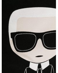 Karl Lagerfeld Karl Ikonik トートバッグ Black