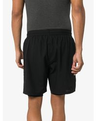 Short à design superposé 2xu pour homme en coloris Black