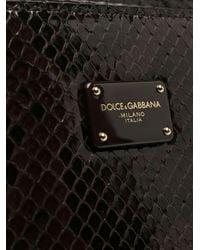 Borsa Sicily 62 di Dolce & Gabbana in Brown