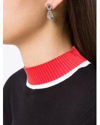 Camila Klein - Metallic Tucan Tear Earrings - Lyst