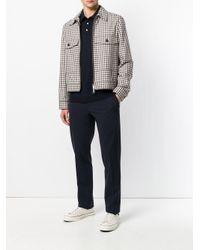 Roberto Collina Blue Casual Polo Shirt for men