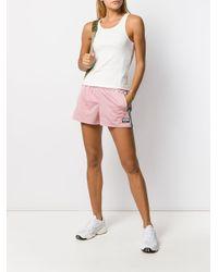 Adidas ロゴ ショートパンツ Pink