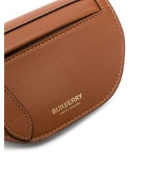 Burberry Brown Olympia Logo Mini Bag