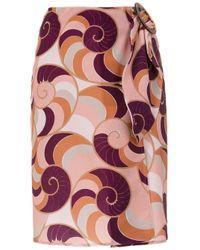 Adriana Degreas Nautilus スカート Multicolor
