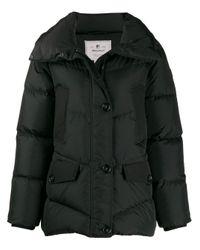 Woolrich Black Padded Zip-up Jacket