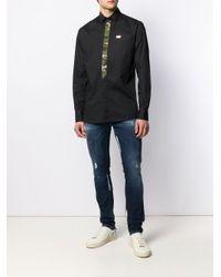 Philipp Plein Klassisches Hemd in Black für Herren