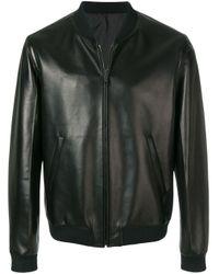 メンズ Prada ボンバージャケット Black