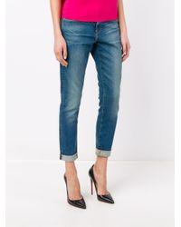 FRAME Blue Le Garçon Jeans