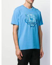 メンズ KENZO タイガー Tシャツ Blue