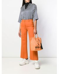 Marc Jacobs Charlie Brown ショッパーバッグ Orange