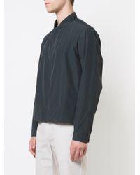 Stephan Schneider Blue Zip Lightweight Jacket for men