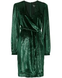 PATBO Green Kleid aus Samt