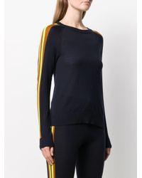 Jersey con panel en contraste Chinti & Parker de color Blue