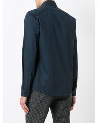 Golden Goose Deluxe Brand Blue Button Down Shirt for men