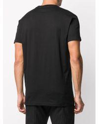 T-shirt à imprimé graphique DSquared² pour homme en coloris Black