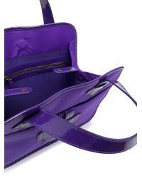 Tila March Zelig ハンドバッグ M Purple