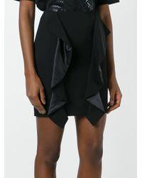 Givenchy ドレープパネルミニスカート Black
