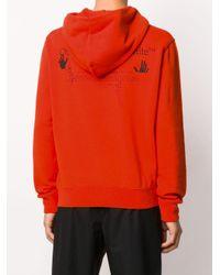 Худи С Логотипом Off-White c/o Virgil Abloh для него, цвет: Orange