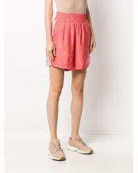 Adidas サテン ショートパンツ Pink