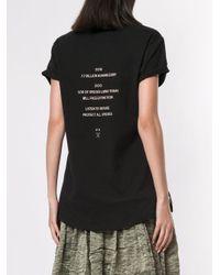 Kitx Homo Sapien Endangered Tシャツ Black