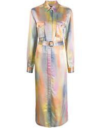 Chemisier midi con cintura di Sies Marjan in Multicolor