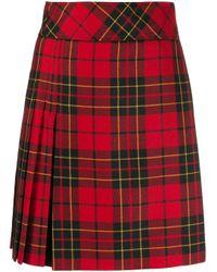 Pringle of Scotland Red Rock mit Schottenkaro